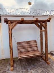Balanço de madeira, novo PRONTA ENTREGA
