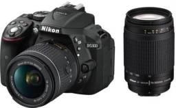 Título do anúncio: Câmera digital Nikon D5300
