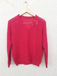 Blusa feminina rosa Tam M
