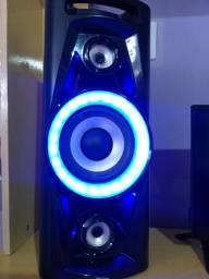 Título do anúncio: Caixa de Som Amplificada  Philco,C/Bluetooth,2 USB,AUX,amfm,100wRms,TOP!!