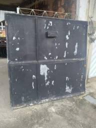 Título do anúncio: portão de garagem completo com fechadura 3 metros 60 cm