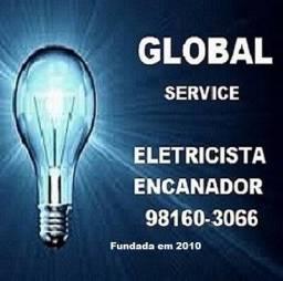eletricista encanador --- 98160.3066