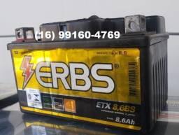 Título do anúncio: Bateria 8,6 AH (Semi-nova) P/ Hornet, Cb600, cb1000...