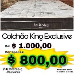 Título do anúncio: Colchão king ortobom