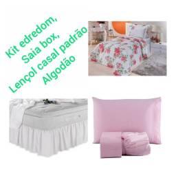 Título do anúncio: Kit suprema para cama de casal 5 peças.