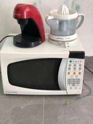 Título do anúncio: Kit cozinha Microondas, cafeteira e espremedor
