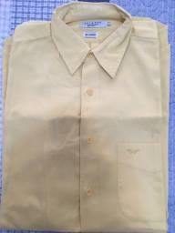 Camisa manga longa social masculina Aviator