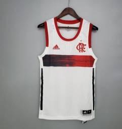 Camiseta Regata Basquete Flamengo