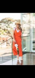 Título do anúncio: Jardineira de Linho!!!!!!