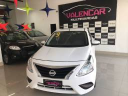 Título do anúncio: Nissan Versa SV 1.6 Automático 2019 com GNV Primeira Parcela Para Janeiro