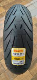 Título do anúncio: Pneude Moto Traseiro 180/55/17 Pirelli Angel St