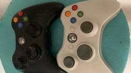 Título do anúncio: Xbox 360 (luz vermelha acendendo), 2 controles, 12 jogos originais, knet