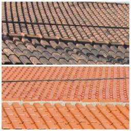 Lavagem de telhados Muros, Calçadas orçamento sem compromisso
