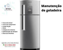 Título do anúncio: Conserto de geladeira Frost Free - Olinda