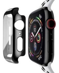 Capa Bumper Vidro Temperado Para Apple Watch Series 1/2/3/4/5/6