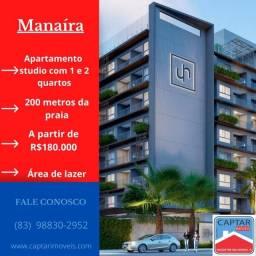 Apartamento para Venda - Manaíra, João Pessoa - 22m², 1 vaga