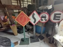 Totem placas pra decoração