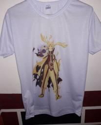 Camisa Naruto Modo Kurama T-P