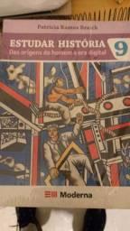 Livro Estudar História das origens do Homem a era digital novo