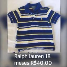 Blusa ralph Lauren polo 18 meses
