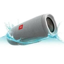 Speaker JBL Charge 3 com Bluetooth/USB Bateria 6.000 mAh