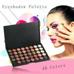 Palheta Sombras Maquiagem 40 cores