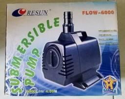 Bomba Submersa Resun Flow 6000 - 6000 L/h de vazão