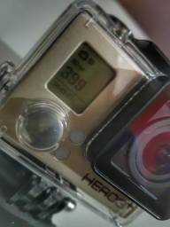 Câmera GoPro Go pro Hero 3+ Silver Edition