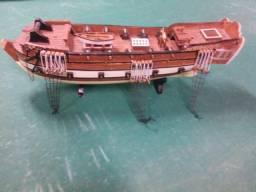 Barco réplica decorativo