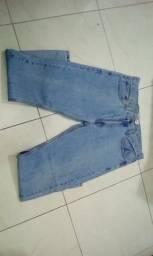 Calça jeans masculina Levis tam. 42/44 nova original importada (jeans claro)
