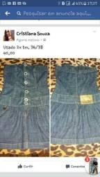 Vestido jeans tm. 36/38
