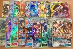 Cartas Pokémon GX e EX