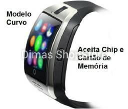 Relógio Celular SmartWatch de Chip, faça e receba ligações a partir do seu pulso, novo