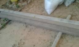 Peças de madeira paraju