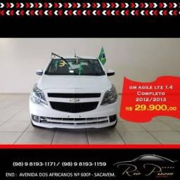 Gm - Chevrolet Agile Ltz 1.4 - Supero Novo - Aceiro Seu Carro e Financio - 2013