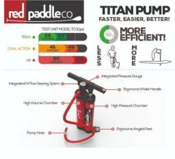 Bomba Dupla Titan para Standup paddle - Sup e Kitesurf