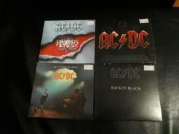CDs coleção AC DC Rock
