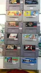 Fitas de SNES (Super Nintendo)