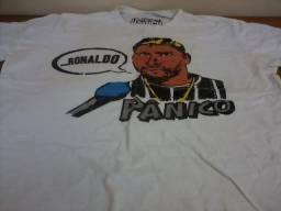 Camisetas divertidas originais pânico na tv bob esponja 1f5cad334fe17