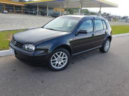 VOLKSWAGEN GOLF GENERATION 2003 1.6 MI COURO AR DIGITAL RODAS GTI 16 2003
