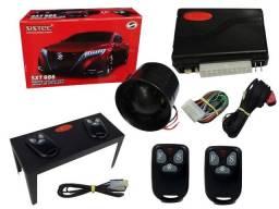 Alarme automotivo universal Sistec SXT 986 2 controles Bloqueio antiassalto ultrassom