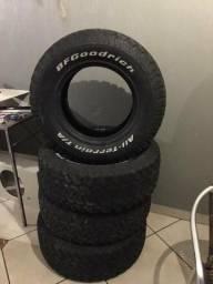 Jogo de pneus BF GOODRICH aro 16