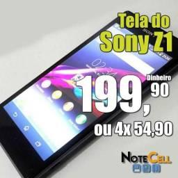 Tela do Sony Z1