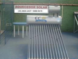 Aquecedor solar a vácuo