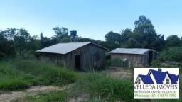 Velleda oferece Sitio com 5000 m2, açude, 2 galpões, horta, Barbada