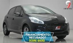 Peugeot 208 Pequena Entrada . Nao Consegue Financiar - 2015