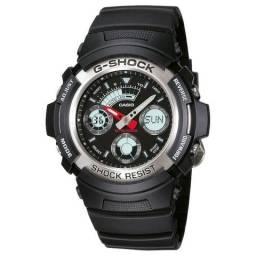Relógio Analógico Digital G-Shock AW-590-1ADR Masculino - Preto