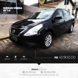 Nissan Versa SV 1.6 2017 automático