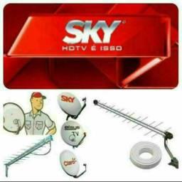 Técnico instalador de antenas profissional disponível