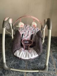 Cadeira de balanço automática Premium